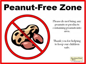 peanut-sign